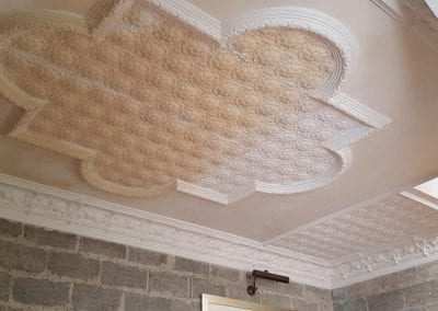 Fibrous Plaster Mouldings Matched to Existing