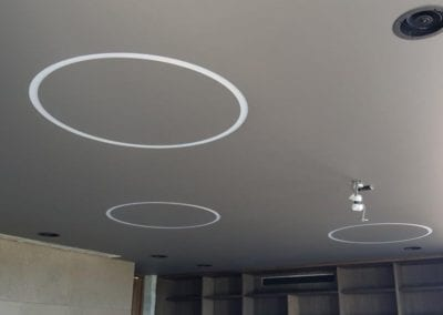 Trimless Lights to Fibrous Plaster Ceiling