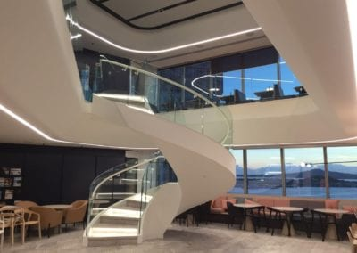 Fibrous Plaster Bulkhead & Stair Linings